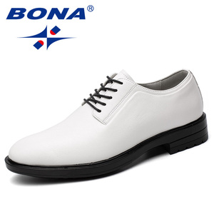 Image 4 - BONA New Arrival Classics Style Men Formal Shoes Microfiber Men Dress Shoes Lace Up Male Office Shoes Comfort Free Shipping