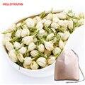 50 г Flower Жасминовый Чай ранней весной 100% Натуральный Органический Цветущий Травяной Чай Похудеть Здравоохранение чай в пакетиках + подарок