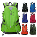 Waterproof Nylon Men Women Backpack Outdoor Sports Bag Unisex Travel Bag Mountain Camping Climbing Hiking Rucksack Wholesale