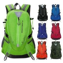 Waterproof Nylon Men Women Backpack Sports Bag Unisex Travel Bag Mountain Climbing Camping Hiking Rucksack Outdoor Bags 7 Colors