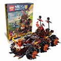2016 NEW Lepin 544pcs 14018 10518 Nexue Knights General Magmar's Siege Machine of Doom Building Blocks toy Brick 70321