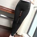 Yichaoyiliang Women Black Lulu Pant High Waist Stretch Skinny Leg Pant  Casual Black Pencil Pants