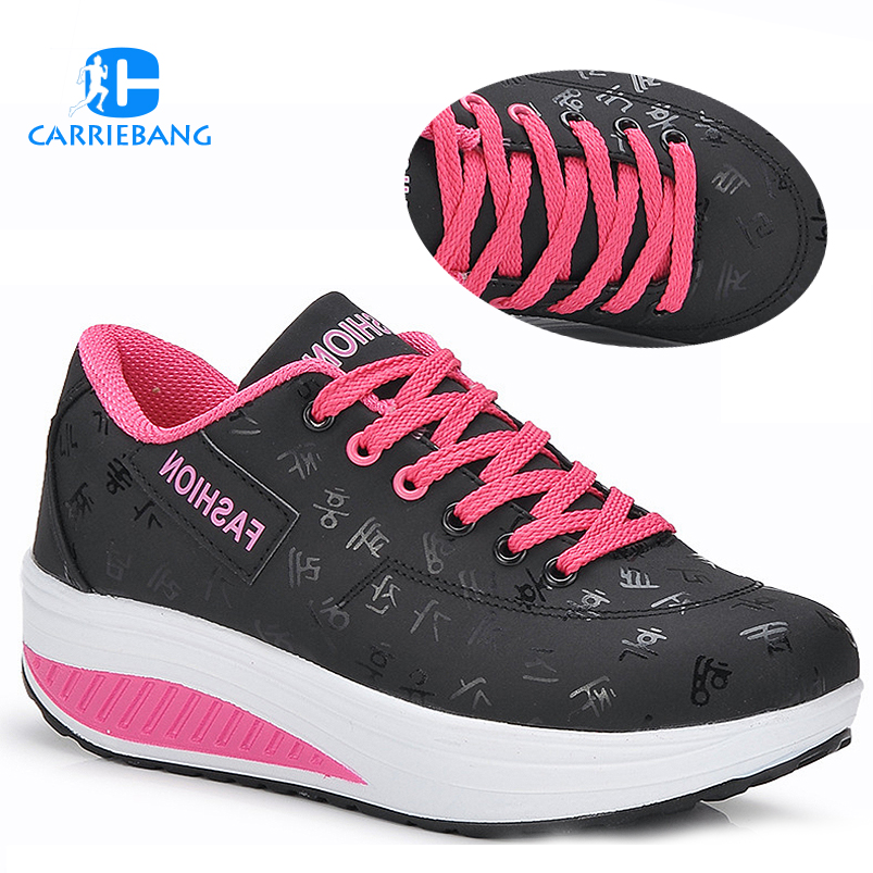 Plus Size 35-42 Toning Shoes For Women Fitness Walking Slimming Workout Stovepipe Sneakers Wedge Platform Swing ShoesPlus Size 35-42 Toning Shoes For Women Fitness Walking Slimming Workout Stovepipe Sneakers Wedge Platform Swing Shoes