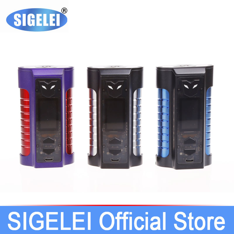 все цены на SIGELEI 2107 Newest e electronic cigarette MT Superpower 220W Newest Nice Design онлайн
