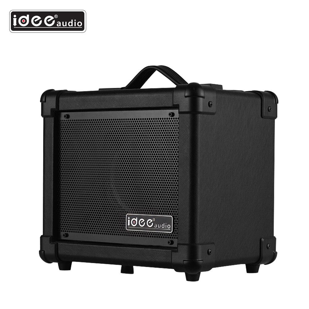 IDEEAUDIO AA-1 BT 10 Watt sans fil Portable bureau guitare électrique haut-parleur amplificateur Combo Amp noir US Plug