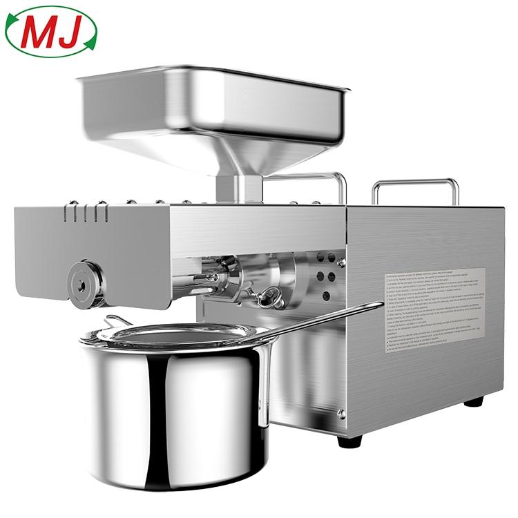 Machine de presse à huile de noix de coco à usage domestique pour graines de sésame graines de tournesol arachides