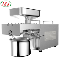 Home use coconut oil press machine for sesame seeds peanuts sunflower seeds