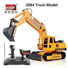 2015 NEW large RC Engineering Truck four-wheelRC Excavator electric forklift controller charging children's toy boy VS HN28763