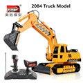 2015 NOVA grande RC Escavadeira Caminhão Engenharia quatro-wheelRC empilhadeira elétrica controlador de carga brinquedo do menino das crianças VS HN28763