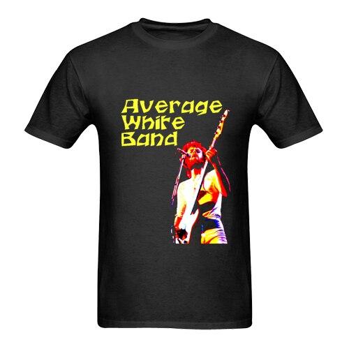 Average White Band *AWB Logo Funk R&B Soul Band Man New Fashion MenS Short Sleeve