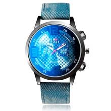 New Fashion Leather Men Watch Casual Sports Cowboy Watches Men Hot Luxury Watch Wristwatch Hour Clock relojes saat montre homme