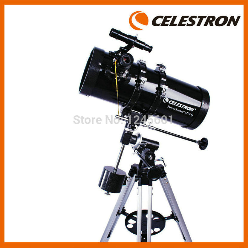 CELESTRON PowerSeeker 127EQ Professional Newtonian Reflector Astronomical Telescope(2014 Brand New Upgrade Version) телескоп celestron powerseeker 70 az