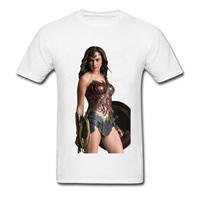 Game Of Throne Sexy Wonder Women Image T-Shirt Men Unique Cool T-Shirts Online Sex Glam T Shirt For Adult Pin Up Tshirt