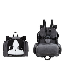 Children Safety Belt Booster Seat Baby Eating Chair Multifunction Diaper Backpack Portable Baby Dining Chair Cartoon Mommy Bag free installation multi function baby portable folding dining table chair booster seat children eating chair dinner booster seat