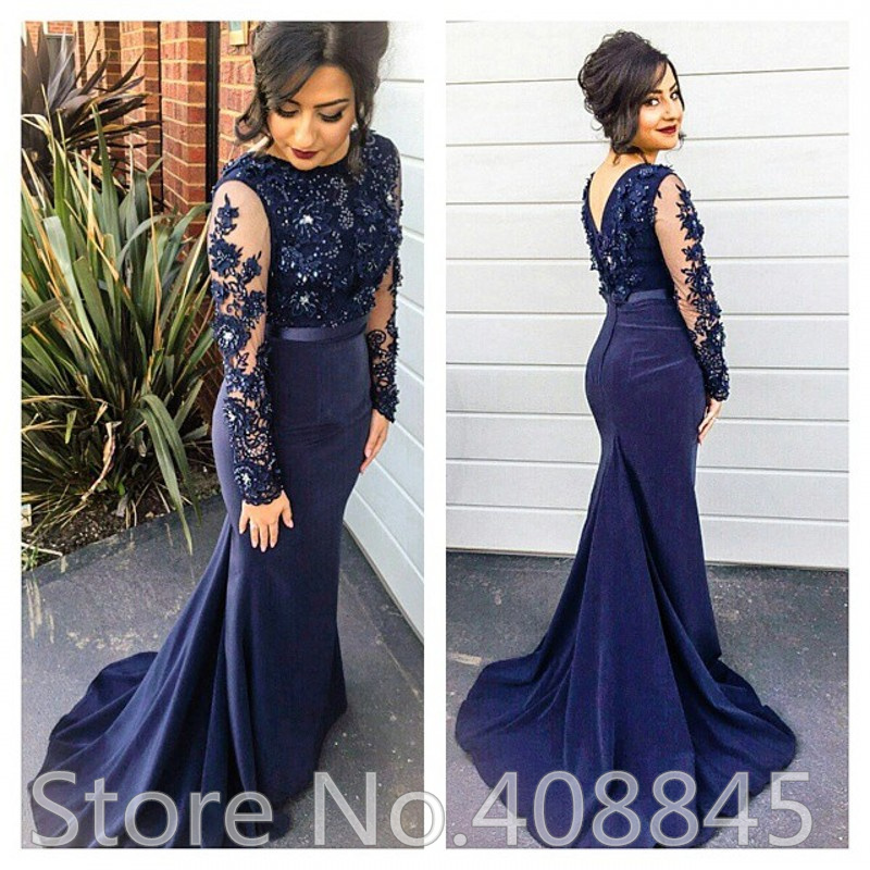 Navy Blue Short Prom Dress 2017 With Black Lace - Plus Size Prom ...