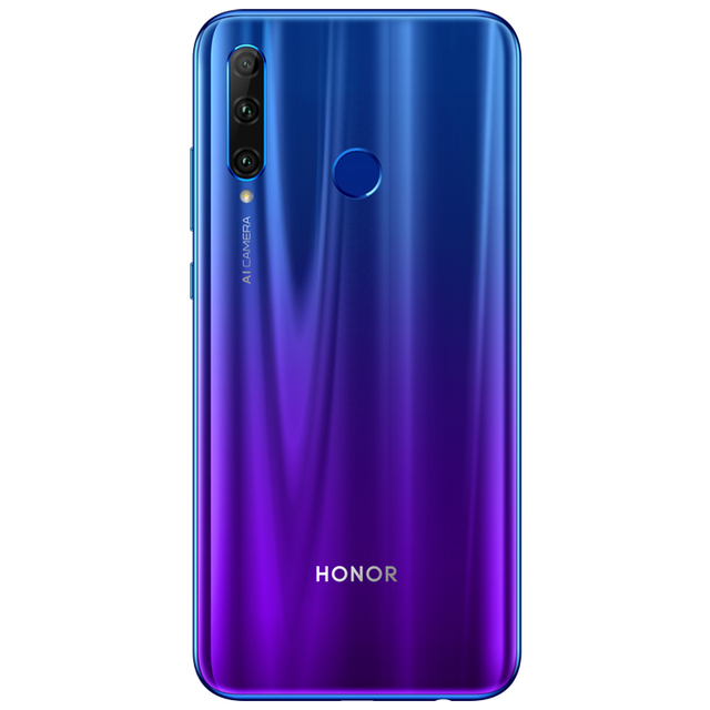 Original Honor 20 lite Smartphone Honor 20i Android 9.0 Octa-core 6.5 inch Full Screen 1440x1440 Dual Camera 3 Slots Cell Phone 4