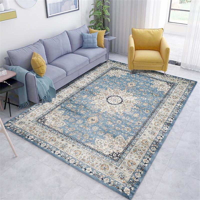 Salon marocain tapis maison Vintage tapis pour chambre américain tapis canapé Table basse tapis étude chambre ethnique tapis de sol - 2