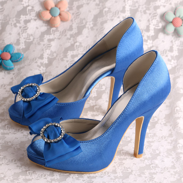 Wedopus Women Korean Stylish Ladies Fancy High Heel Shoes Wedding ...