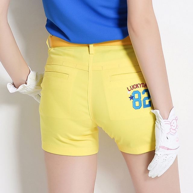LUCXES  women summer golf short 4 color