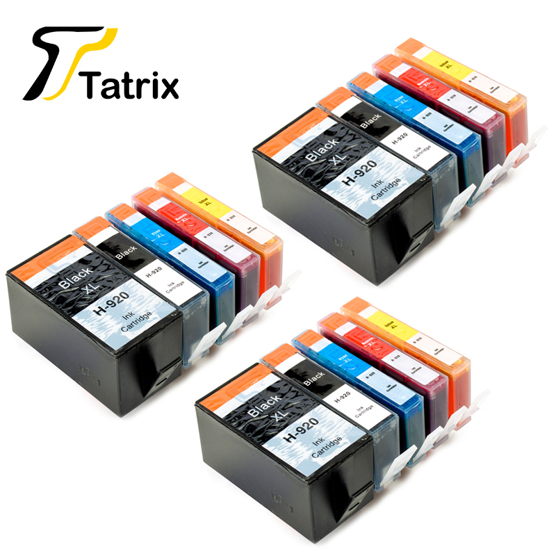 12 PCS For HP 920 XL 920XL With Chip Compatible Ink Cartridge For HP Officejet 6000/6500/6500 Wireless/6500A/7000/7500/7500 tianse full ink cartridge for hp 920 xl for hp 920xl for hp920 hp920xl for hp officejet 6000 6500 6500a 7000 7500 7500a printers