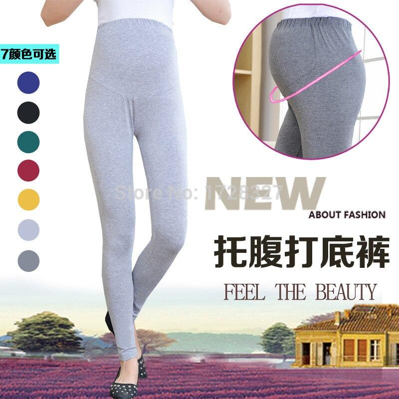 Trousers for pregnant font b women b font pregnant font b Leggings b font Korean maternity