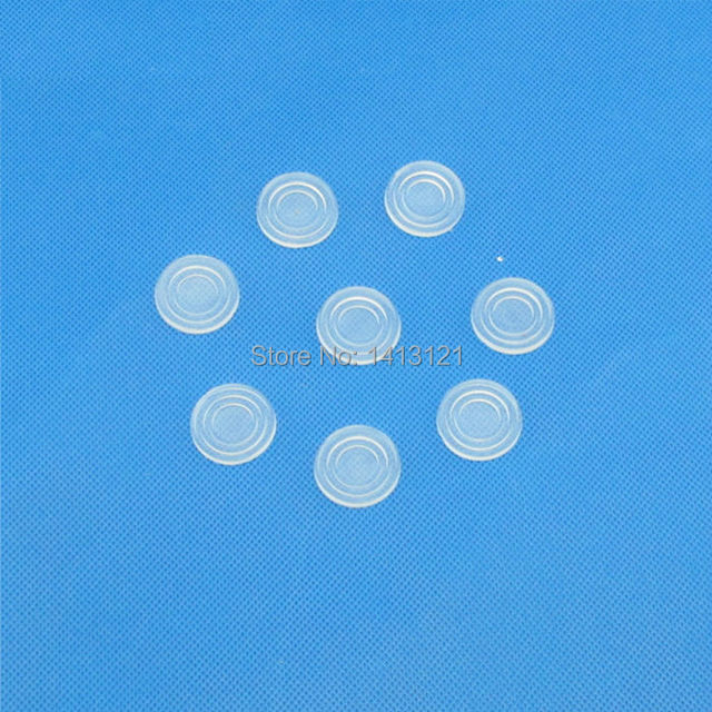 Free Shipping Glass Coffee Table Glass Washer Anti Skid Pad Transparent  Rubber Pad Household Furniture