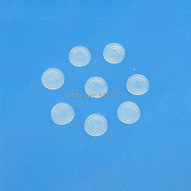 Free Shipping Glass Coffee Table Glass Washer Anti Skid Pad Transparent  Rubber Pad Household Furniture Hardware Part