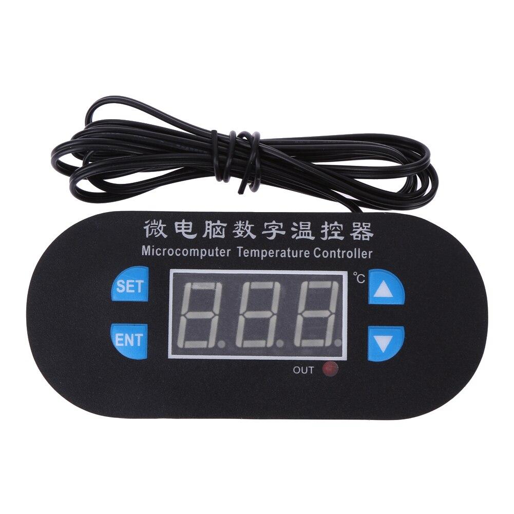 DC 12V Electronic Thermostat LED Digital Temperature Controls