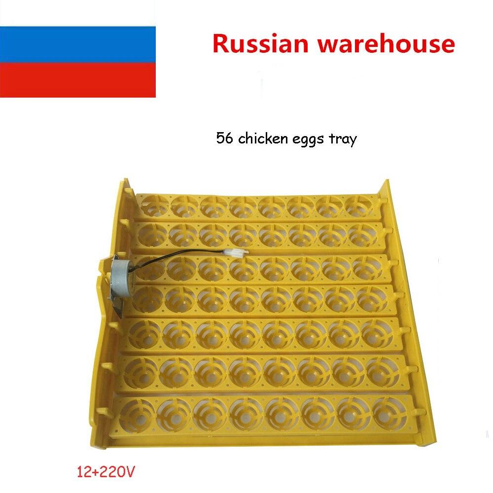 High Quality Hot Incubator 56 eggs Quail Parrot incubation tool Bird Incubator egg rack Tray automatic egg incubator