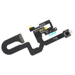 Image 5 - 2 ピース/セット iphone 7 7 プラス 8 8 プラス防水ステッカー + フロントカメラに直面センサー近接光とマイクフレックスケーブル