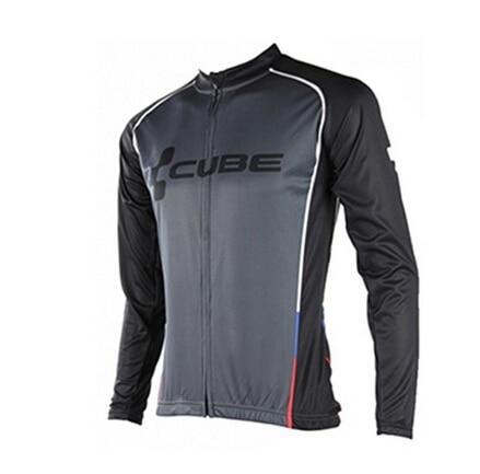 Цена за 2016 ГОРЯЧИЕ Продажа Quick Dry Pro Велосипед MTB КУБ Одежда Велоспорт Длинным рукавом Джерси/Куртка Одежда/Одежда майо/Ropa Ciclismo