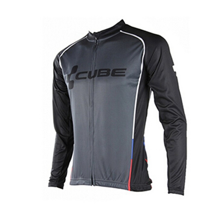 2016 HOT Sale Quick Dry Pro Bicycle Bike MTB CUBE Wear Cycling Long sleeve Jersey/Jacket Clothes/Clothing maillot/Ropa Ciclismo