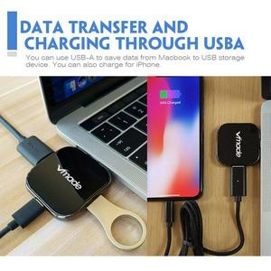 Image 3 - Vmde USB C 3.1 רכזת סוג C כדי HDMI Mini ממיר עבור Apple MacBook החדש או Google ChromeBook פיקסל סוג  C USB C רכזת מיני מתאם
