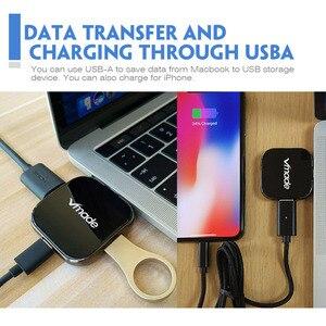 Image 3 - Vmde USB C 3.1 HUB typu C do HDMI Mini konwerter dla Apple nowy MacBook lub Google ChromeBook Pixel typu  C USB C piasta Mini Adapter