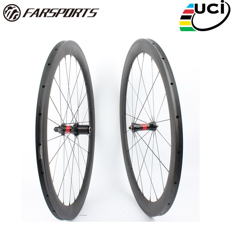Farsports FSC50-TM-25 DT240 hub(36 ratchets) 50mm road bicycle carbon wheel,OEM Chinese custom bike tubular 50 wheelset with DT комплектующие к инструментам oem tm 18