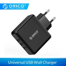 ORICO Portable Smart Wall Charger 3 Port 5V2.4A 15W Mobile P