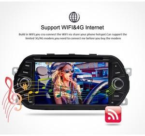 """Image 5 - 4 グラム RAM 7 """"アンドロイド 9.0 カー Dvd プレーヤー Tipo Egea 2015 2016 2017 カーステレオ GPS ナビゲーション RDS ラジオ FM 無線 Lan マルチメディア"""