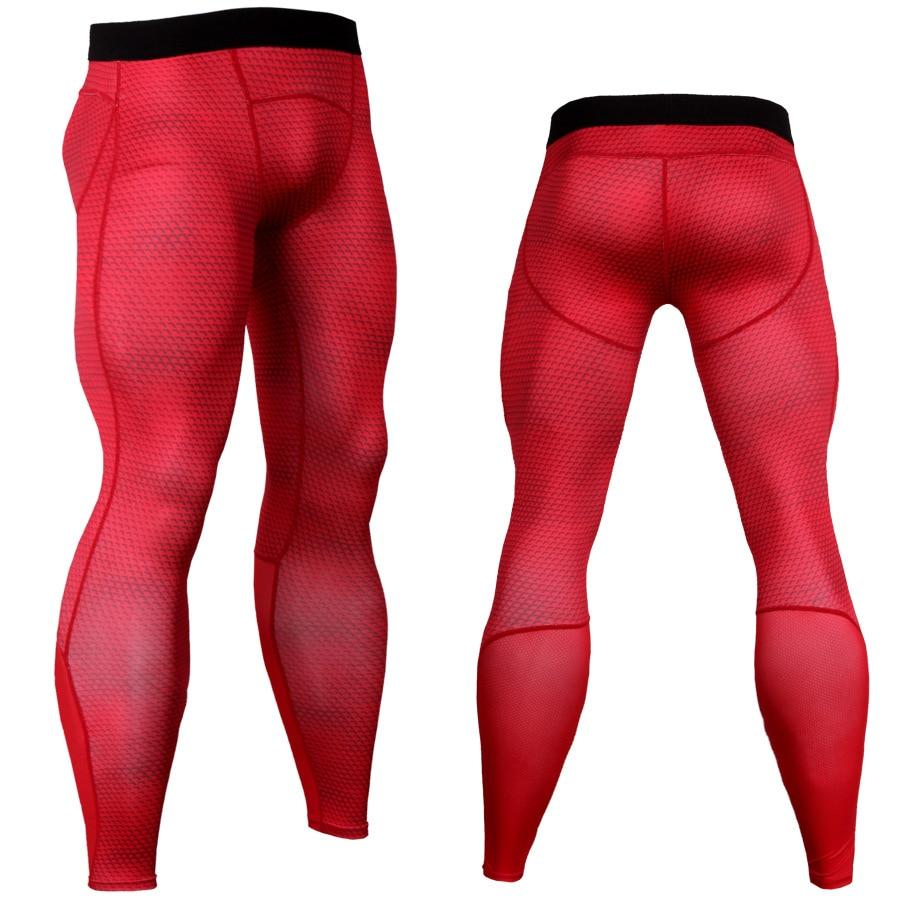 New 2018 3D serpentine Mens workout Pants Compression Pants Fitness Elastic Trousers Skinny Sweatpants Men Gyms Leggings Jogger