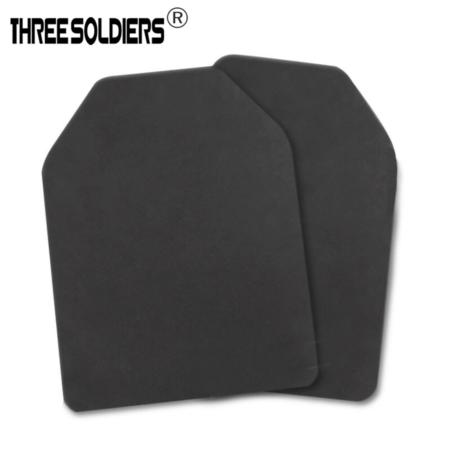 2pcs=1set  Military Tactical Vest Inner Liner Foam Shock Board Outdoor Tactical Vests EVA Pad Resistant Dummy Ballistic Plate