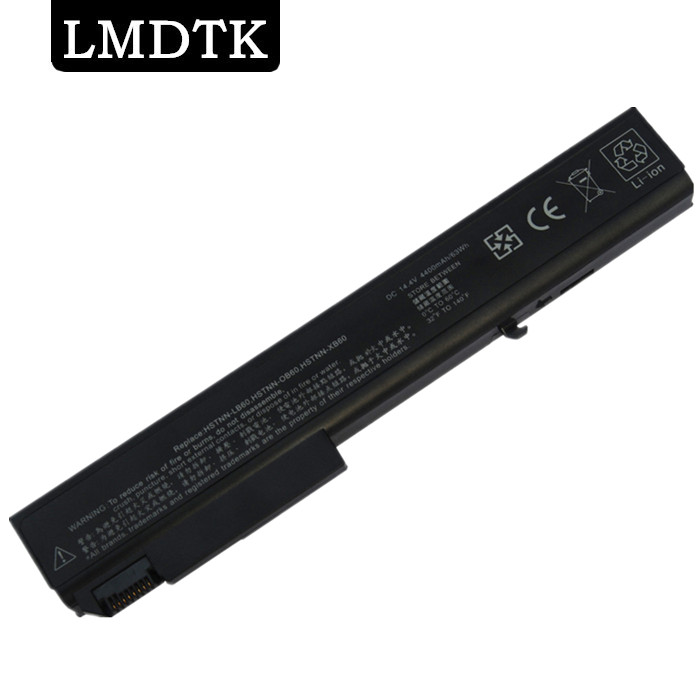 LMDTK New 8cells laptop battery  FOR EliteBook 8530P 8530w  8540P 8540W 8730P  HSTNN-XB60 KU533AA 458274-421 free shipping чехол melkco for samsung 8530 в санкт петербурге