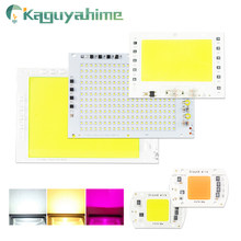 Kaguyahime 220V LED COB Chip 20W 30W 50W 100W DIY Rectangular Chip Spotlight Lamp No Need Driver LED Floodlight For Grow Plant(China)