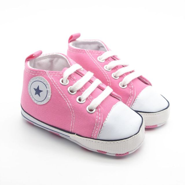 8dbce74615676 Newborn Baby Shoes Infant Cotton Fabric First Walkers Soft Sole Shoes Girl  Boys Footwear Best