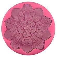 7.3cm Mandala Flower Silicone Mold Designer DIY Clay Craft Concrete Mol