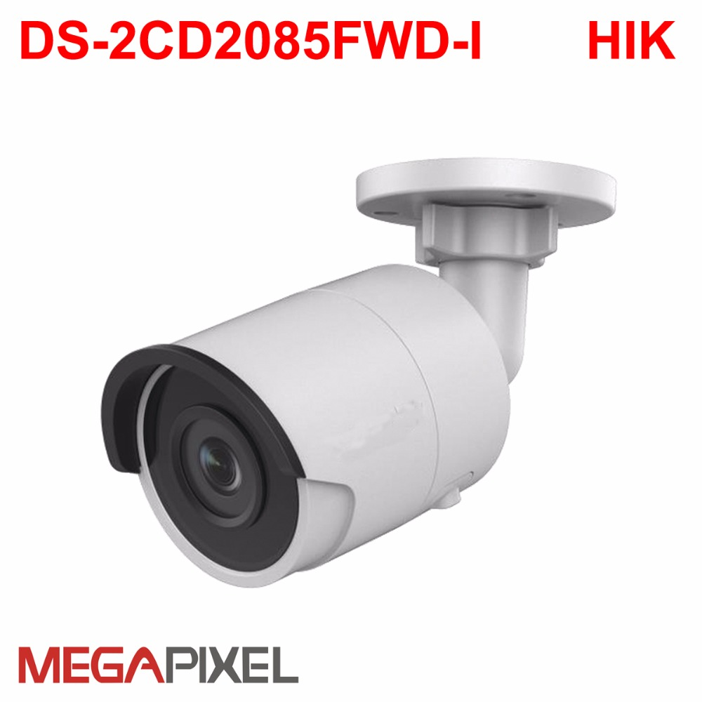 cctv video surveillance security PoE ip camera DS-2CD2085FWD-I Support hikvision dahua DVR HIK-Connect iVM4200 Camcorder 8mp WDR 8mp ip camera cctv video surveillance security poe ds 2cd2085fwd is audio for hikvision dahua dvr hik connect ivm4200 camcorder