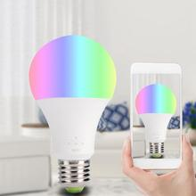 LED Wifi Smart E27 Light Bulb With Wireless APP Remote Control Lamp AC100-240V 2700-6500K counter h7bx aw ac100 240v