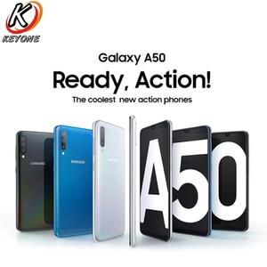 "Image 3 - חדש לגמרי Samsung Galaxy A50 A505GN DS 4g נייד טלפון 6.4 ""6 gb RAM 128 gb ROM EXYNOS 9610 אוקטה core אנדרואיד 9.0 SIM הכפול טלפון"