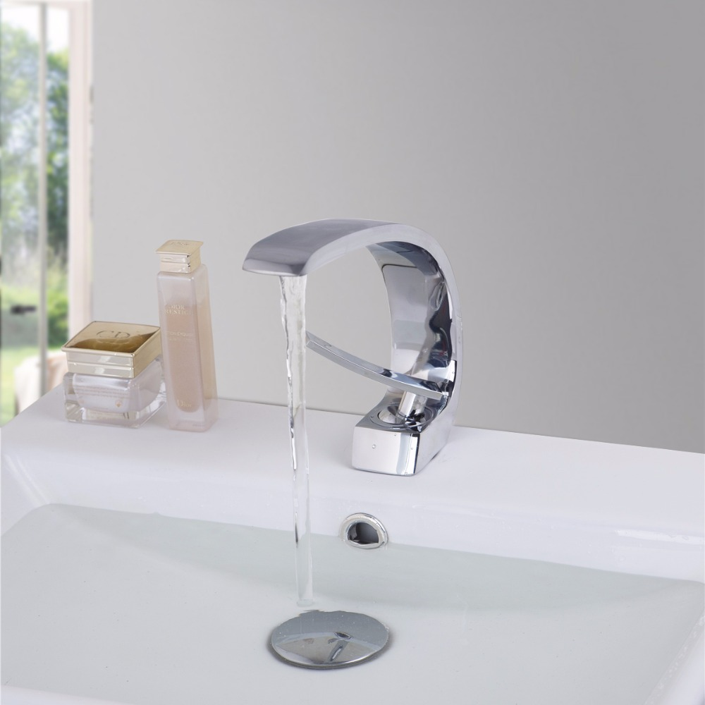KEMAIDI Bathroom Kitchen Tap Mixer Bathroom Washbasin Faucet Hot And ...