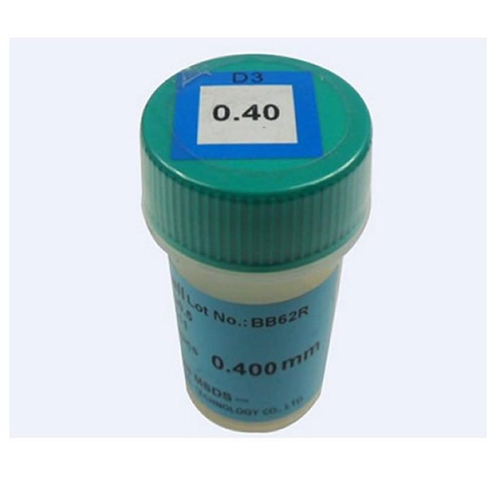 Lead free 0.4mm BGA solder balls 250K for bga repair reballing kit pmtc 250k 0 65mm leaded free bga solder ball for bga repair bga reballing kit bga chip reballing