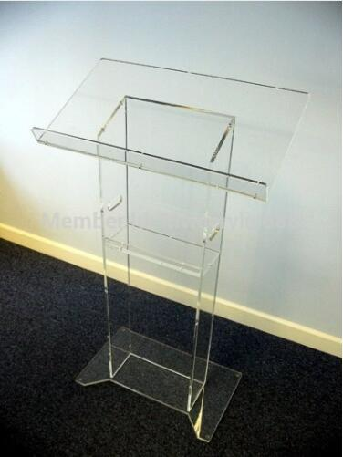 Wholesale Free Shipping Beautiful HoYodeMonterrey Price Reasonable Acrylic Podium Pulpit Lectern Podium