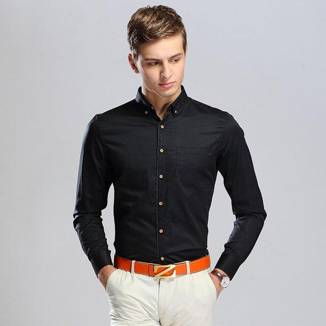 2015 Latest Mens Fashion Shirts Long Sleeve Floral Men Shirts Polka Dot  Dress Shirts For Men Camisas Hombre Casual L216 31b8c6c12f5d